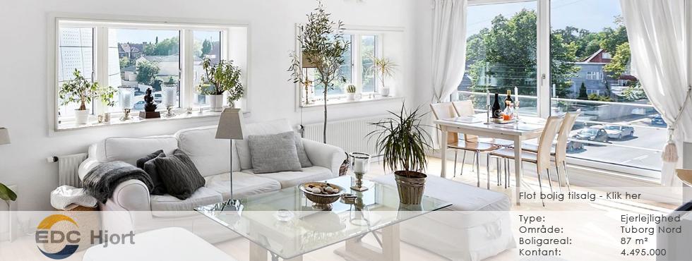 Lejlighed til salg i Hellerup hos EDC Hjort